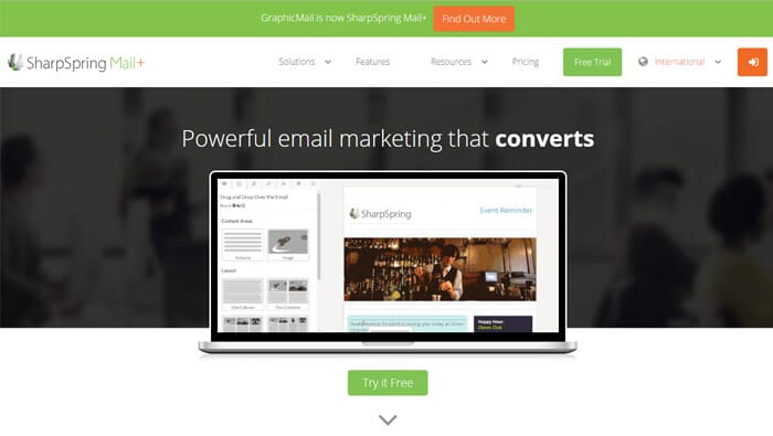 SharpSpringMail Email Marketing