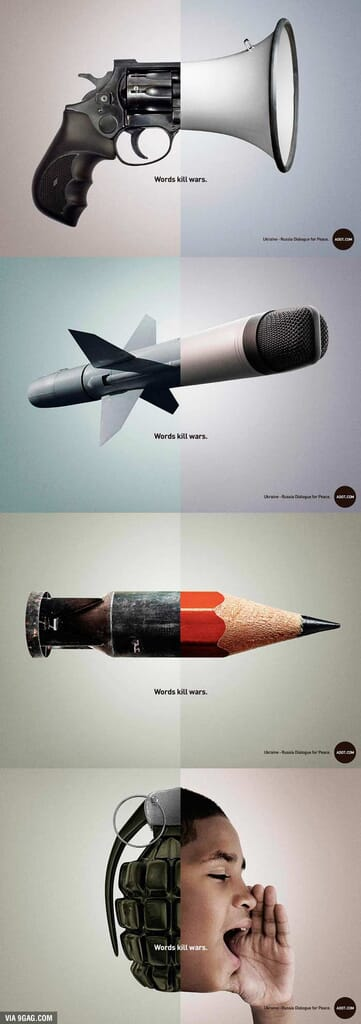 words-kill-wars-social-advertising